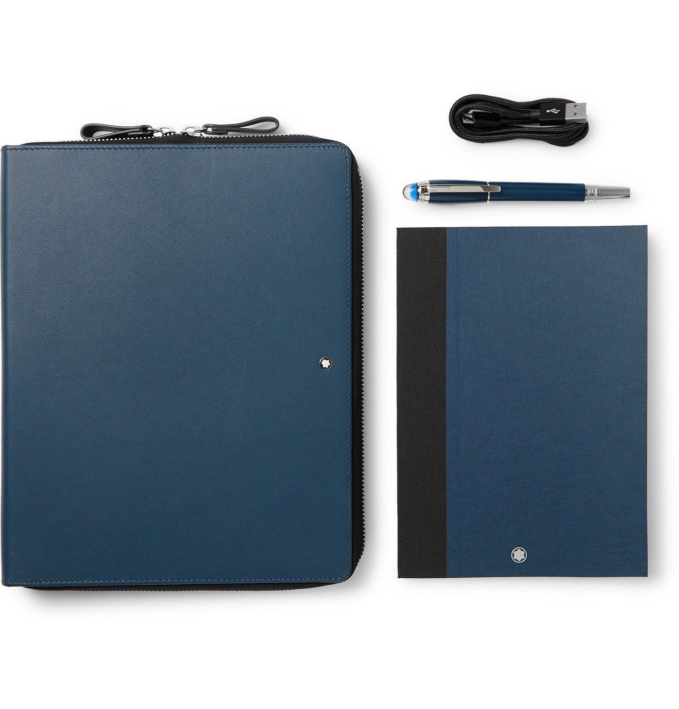 Photo: Montblanc - StarWalker Augmented Notebook Set - Blue