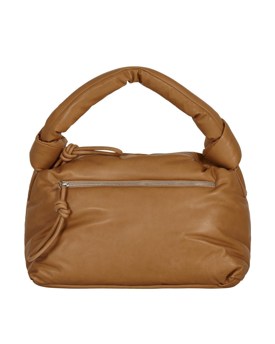 Photo: Dries Van Noten Leather Tote Bag Beige