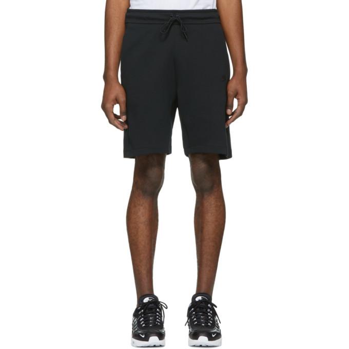 Photo: Nike Black Tech Fleece NSW Shorts