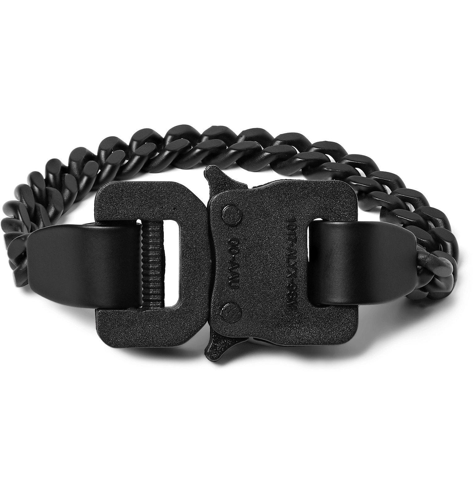 Photo: 1017 ALYX 9SM - Matte-Metal Bracelet - Black