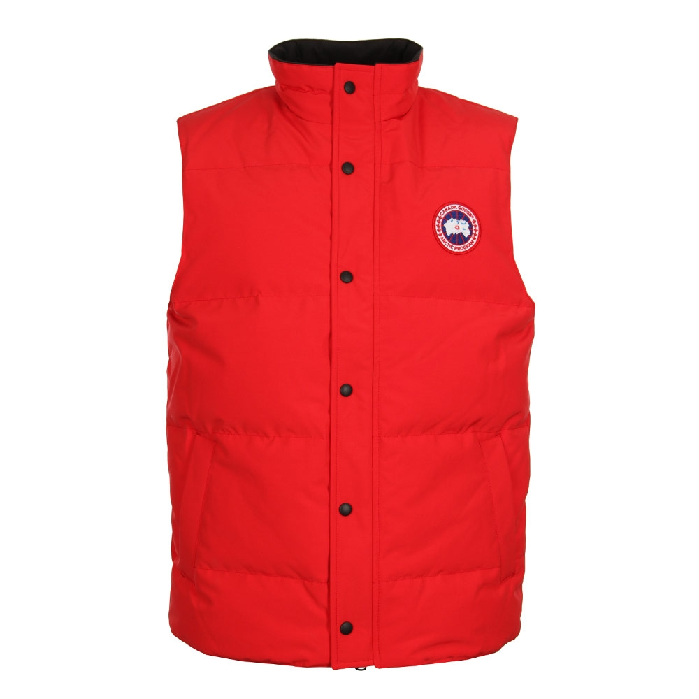 Photo: Garson Vest - Red