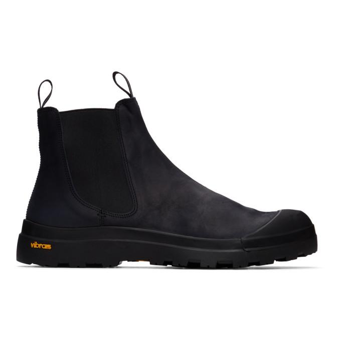Photo: Officine Creative Black Pallet 2 Chelsea Boots