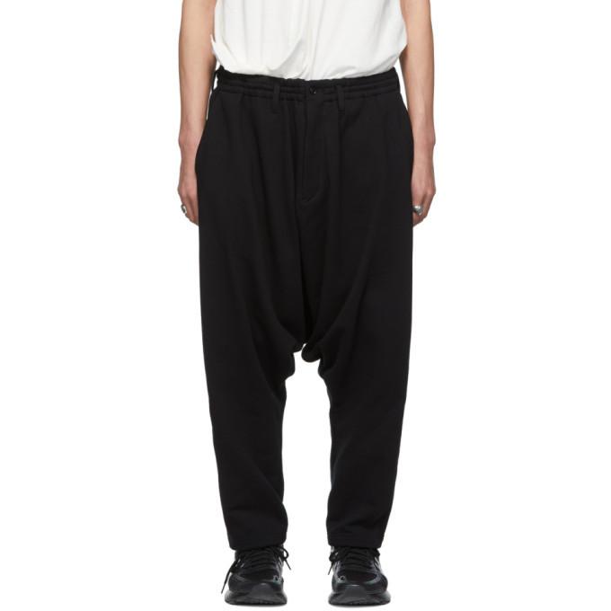 Photo: Yohji Yamamoto Black Drop Crotch Lounge Pants