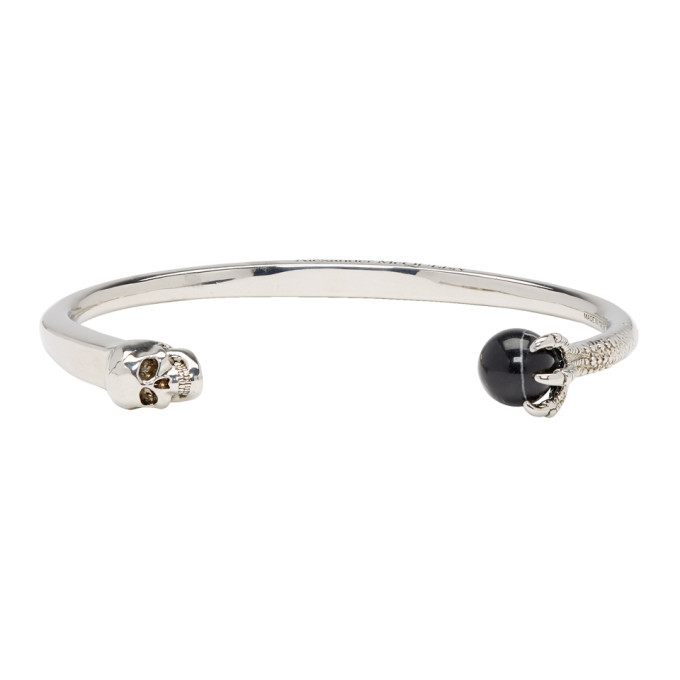 Photo: Alexander McQueen Silver Skull and Claw Bracelet