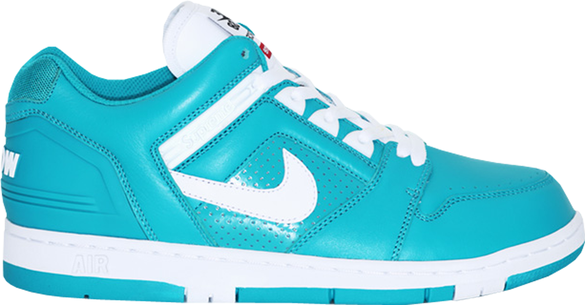 Nike SB Air Force 2 Low Supreme Blue Nike