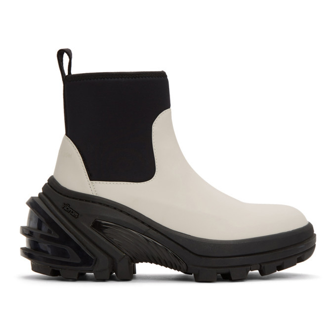 Photo: 1017 ALYX 9SM Off-White Rubber Boots