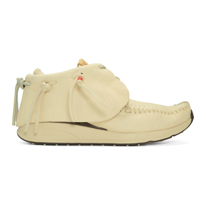 Photo: Visvim Off-White FBT Moccasins