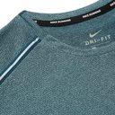 Nike Running - Miler Mélange Dri-FIT T-Shirt - Blue