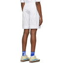 3.1 Phillip Lim White Striped Relaxed Shorts