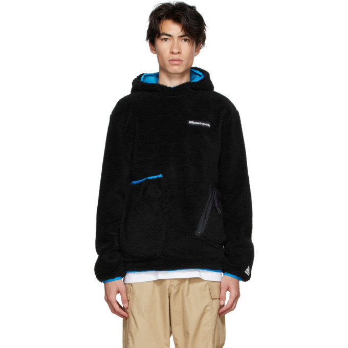 Photo: Billionaire Boys Club Black Sherpa Hoodie