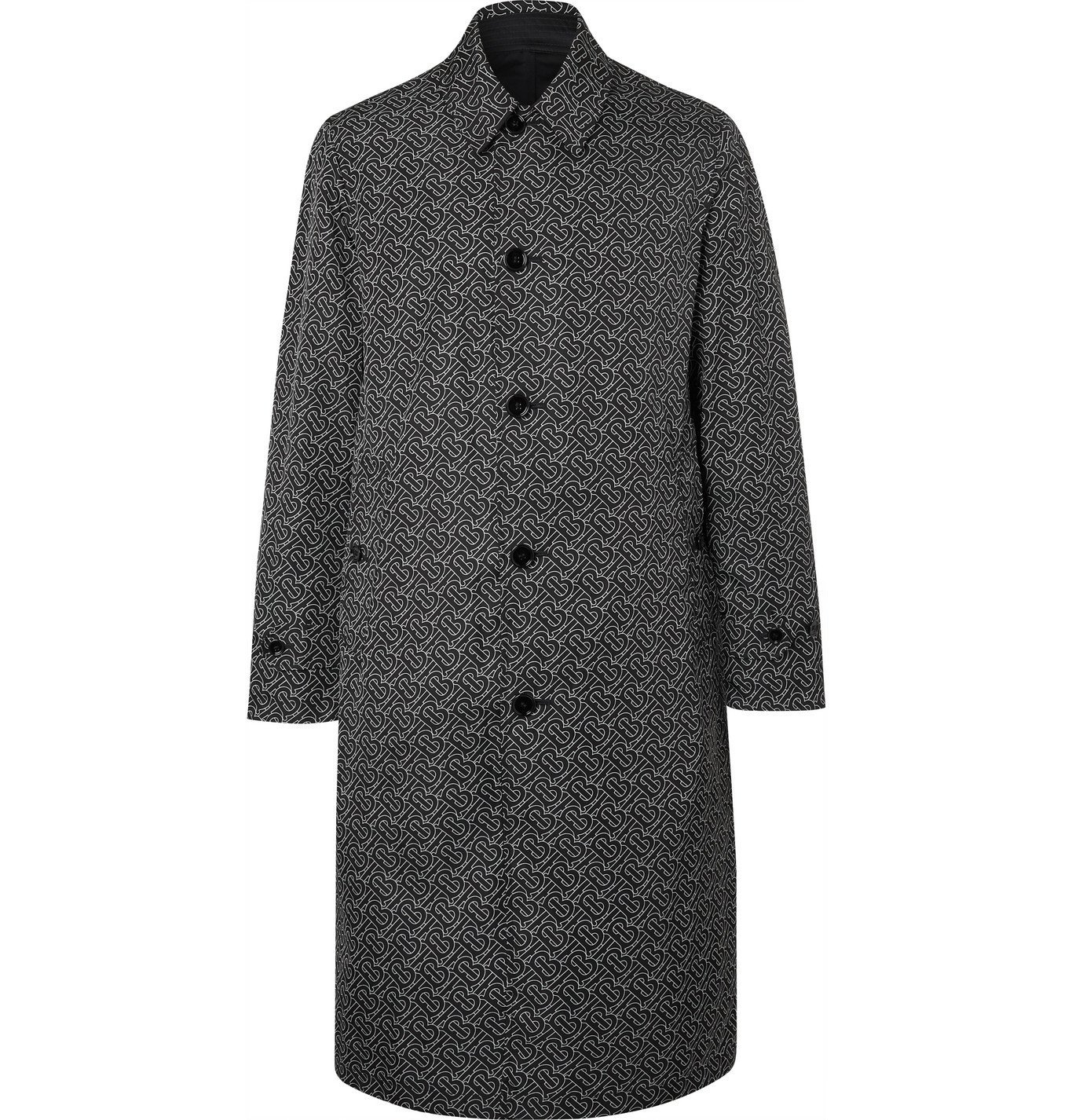 Photo: Burberry - Reversible Nylon Trench Coat - Black
