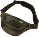 Sacai Green KAWS Edition Camo Bum Bag