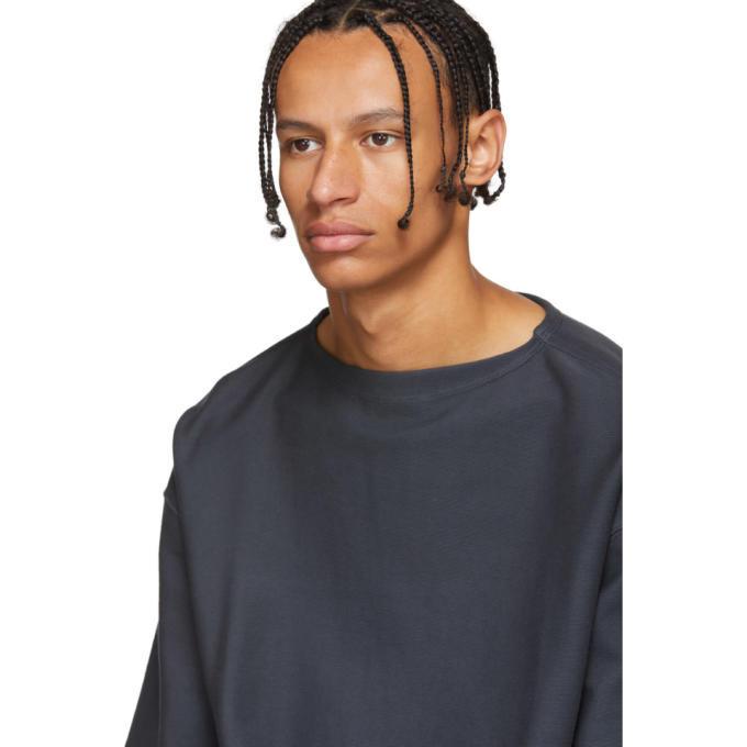 Lemaire Grey Jersey T-Shirt
