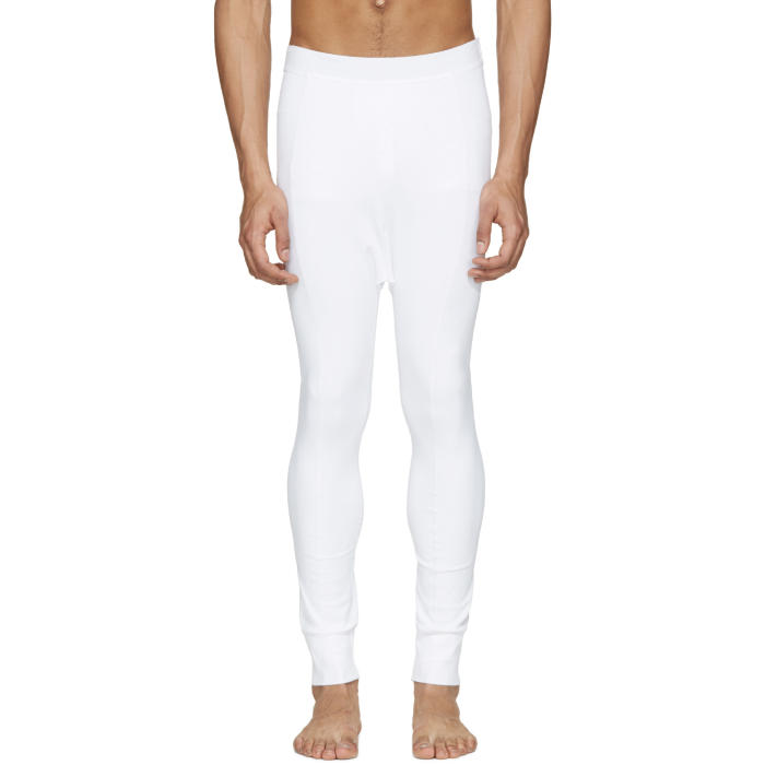 Photo: 11 by Boris Bidjan Saberi White Reflective Leggings