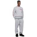 Aries Grey Column Sweatshirt