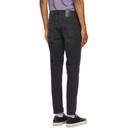 Acne Studios Black Faded Slim Tapered Jeans