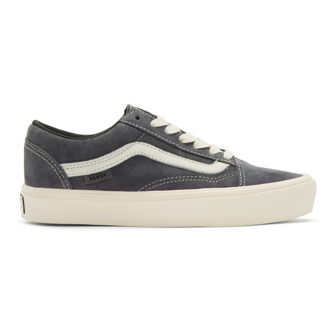 Photo: Vans Grey Old Skool Lite LX Sneakers