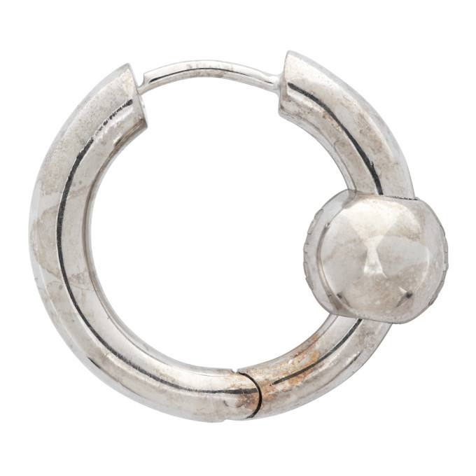 Photo: Balenciaga Silver Force Earring