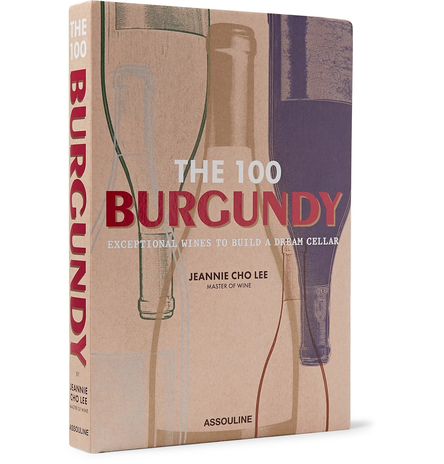Photo: Assouline - The 100: Burgundy - Exceptional Wines to Build a Dream Cellar Hardcover Book - Neutrals