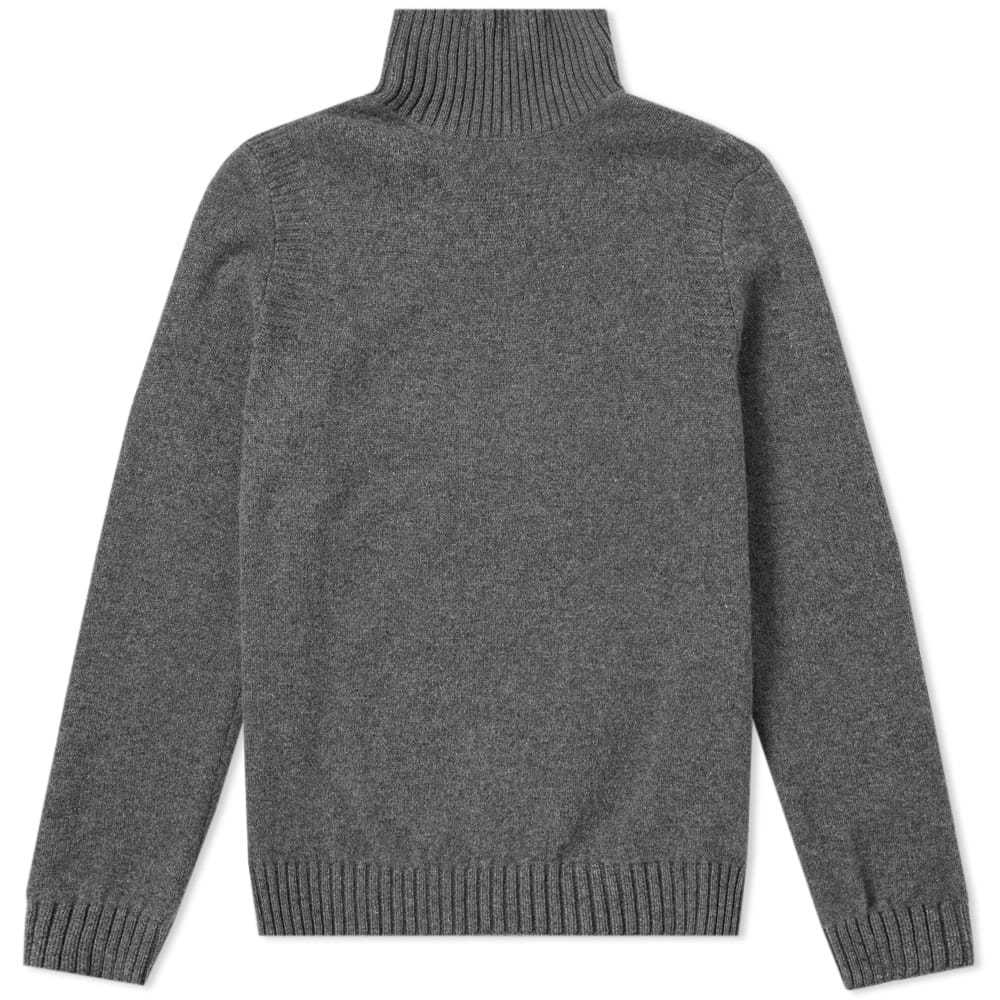 Photo: A.P.C. Cidre Roll Neck Knit