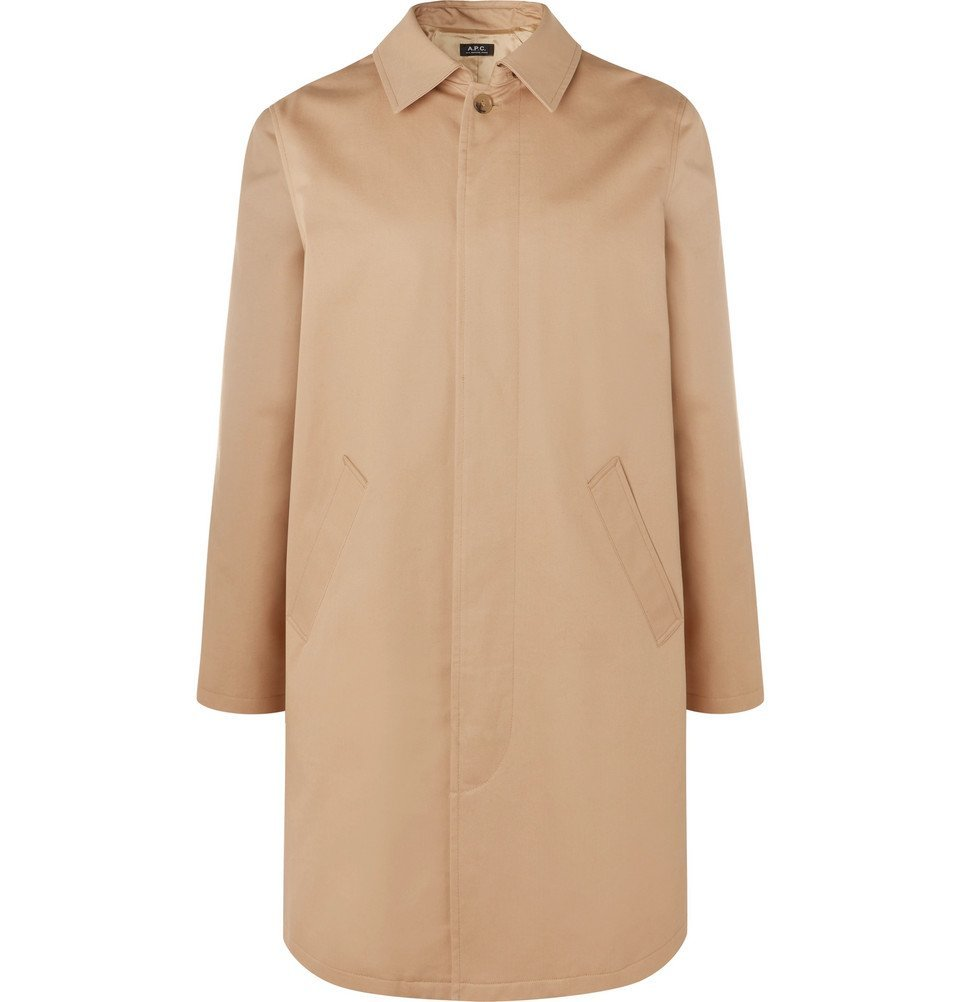 Photo: A.P.C. - Cotton-Twill Trench Coat - Beige