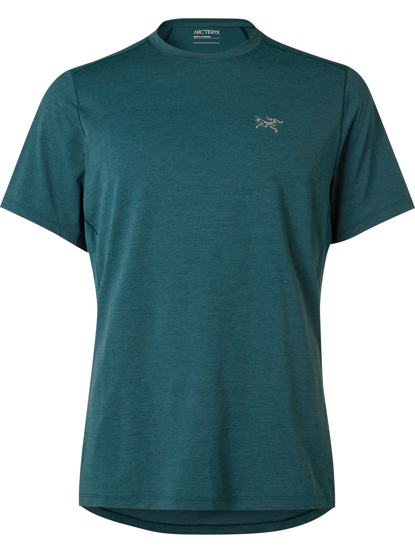 ARC'TERYX - Cormac Comp Panelled Jersey and Mesh T-Shirt - Blue