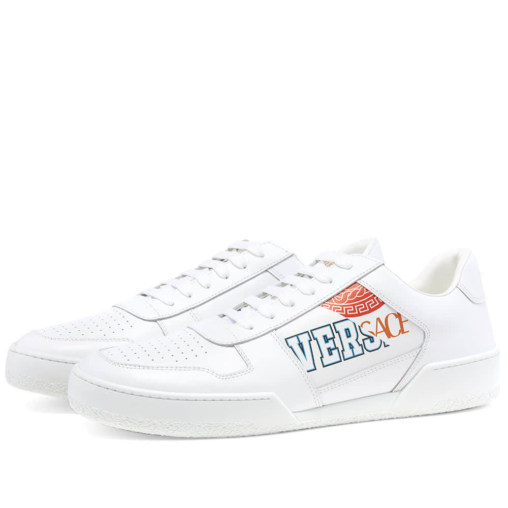 Photo: Versace Split Tennis Sneaker