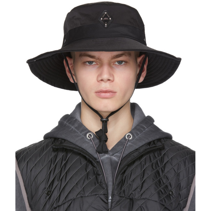 Photo: A-Cold-Wall* Black Side Snap Bucket Hat