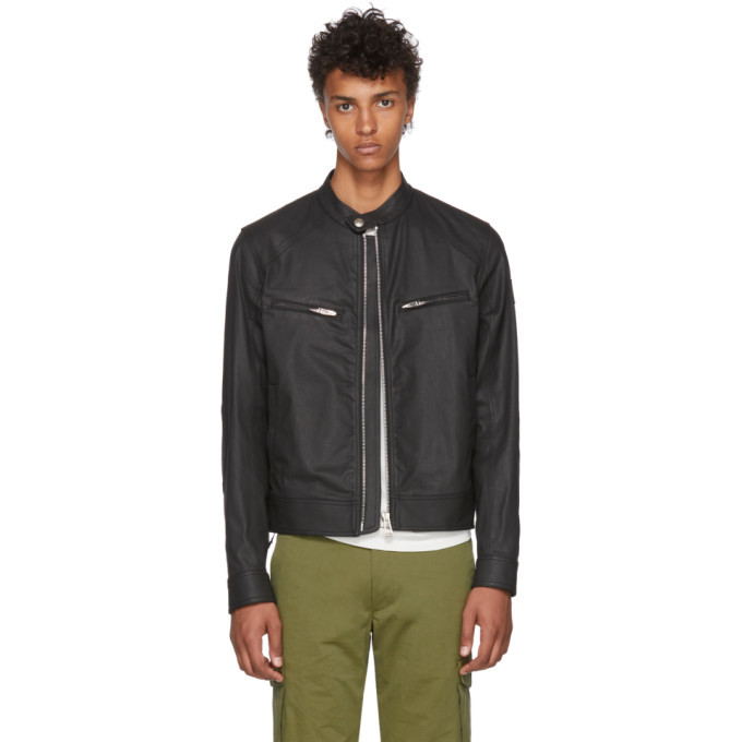 Photo: Belstaff Black Denim Beckford 2.0 Jacket