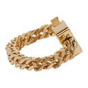 1017 ALYX 9SM Gold Cubix Chain Bracelet