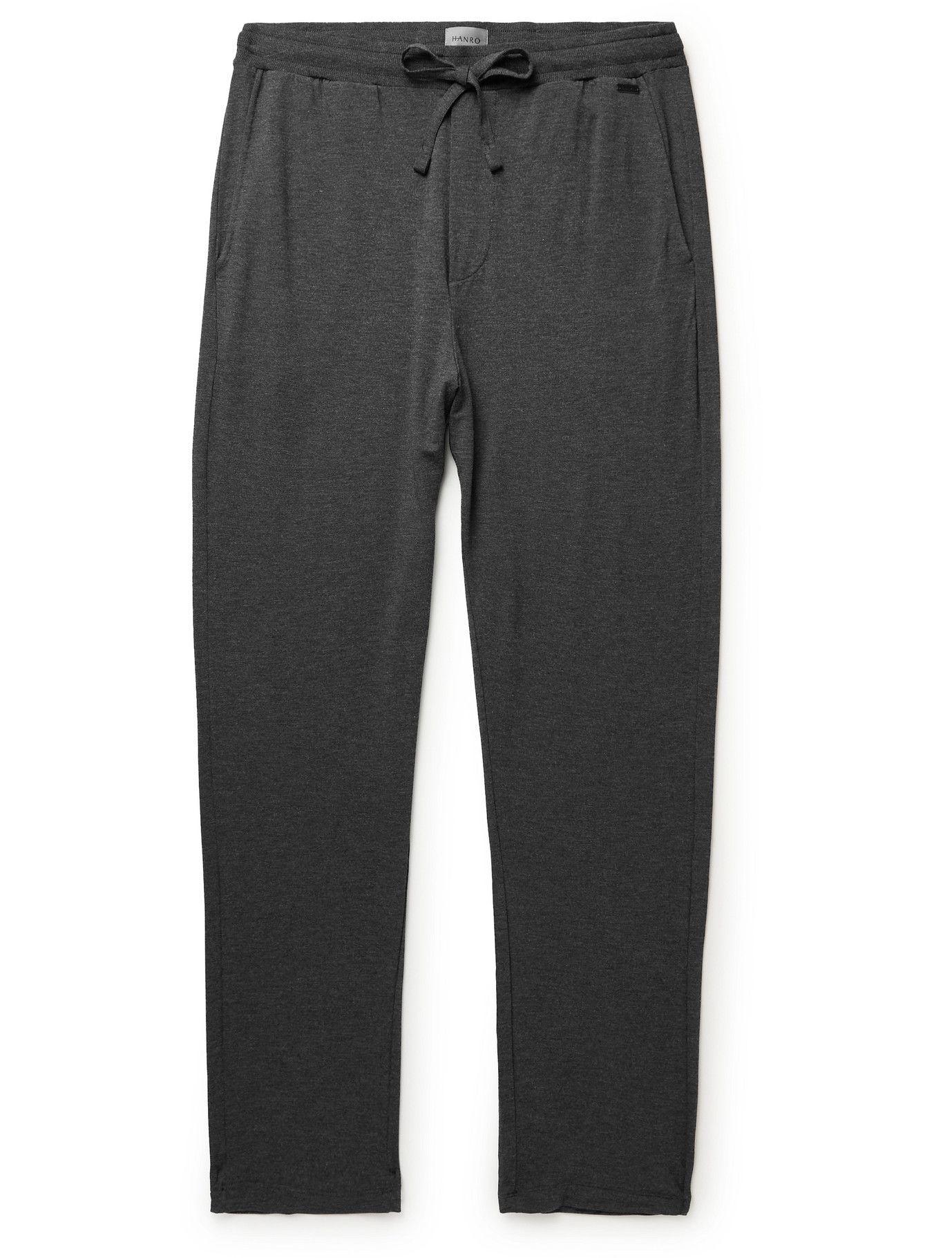 Photo: Hanro - Stretch-Jersey Pyjama Trousers - Gray