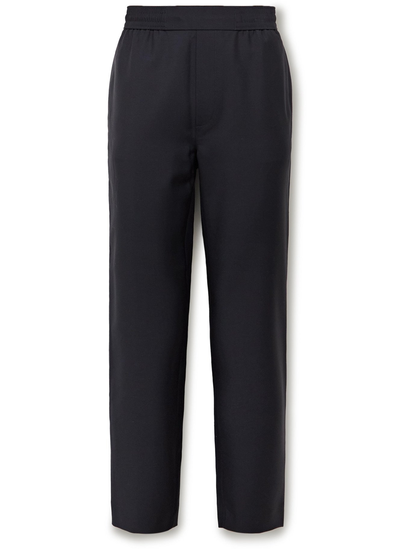 Photo: ACNE STUDIOS - Pismo Wool and Mohair-Blend Trousers - Blue