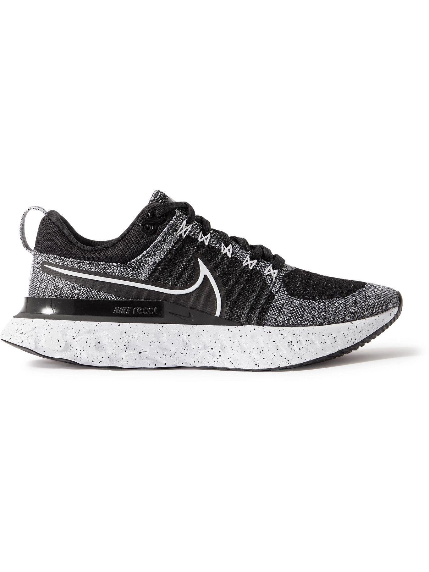 NIKE RUNNING - React Infinity Run 2 Flyknit Sneakers - Gray