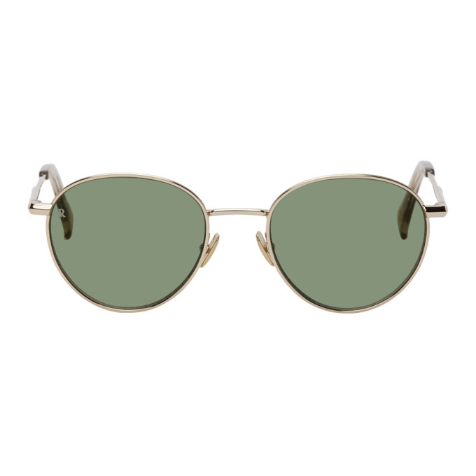 Photo: RAEN Gold Andreas Sunglasses