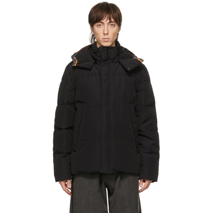 Photo: Paul Smith Black Down Short Parka