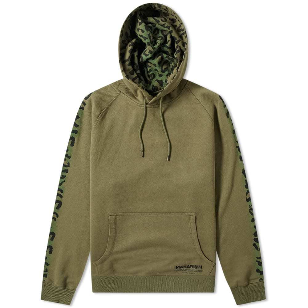 Photo: Maharishi Camo Hooded Sweat