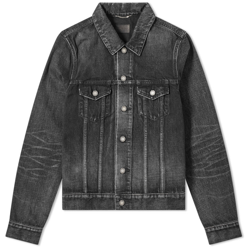 Photo: Saint Laurent Denim Jacket Deep Black