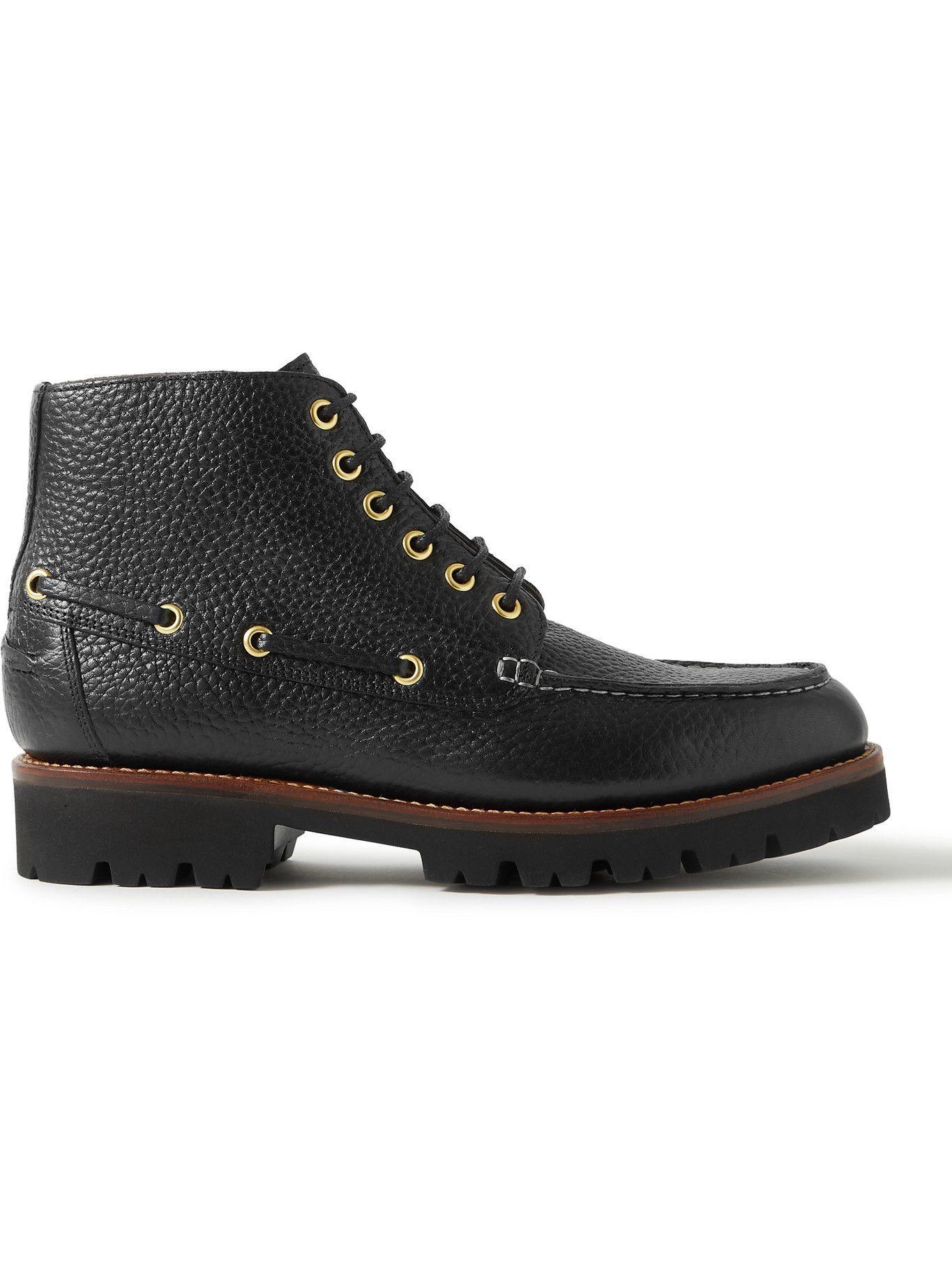 Photo: Grenson - Easton Full-Grain Leather Boots - Black