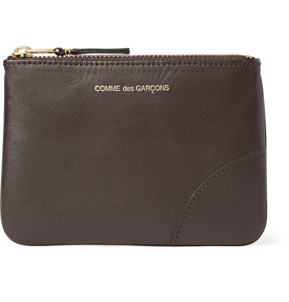 Photo: Comme des Garçons - Leather Coin Wallet - Men - Chocolate