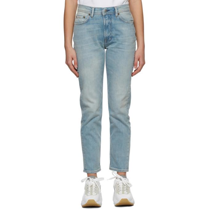 Photo: Acne Studios Blue Slim Fit Jeans