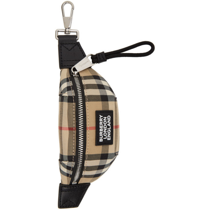 Photo: Burberry Beige Sonny Bum Bag Keychain