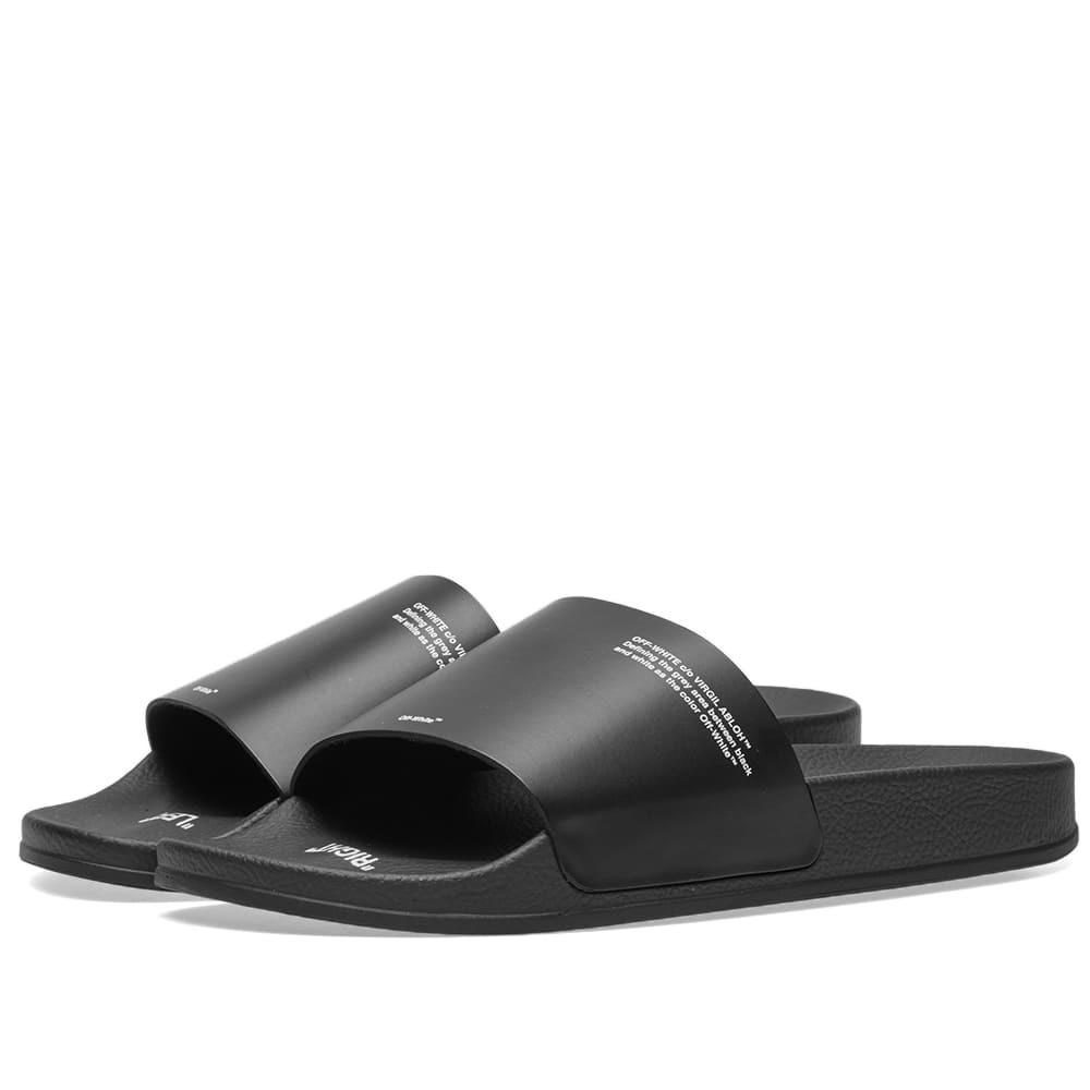 Photo: Off-White Corporate Slider Black