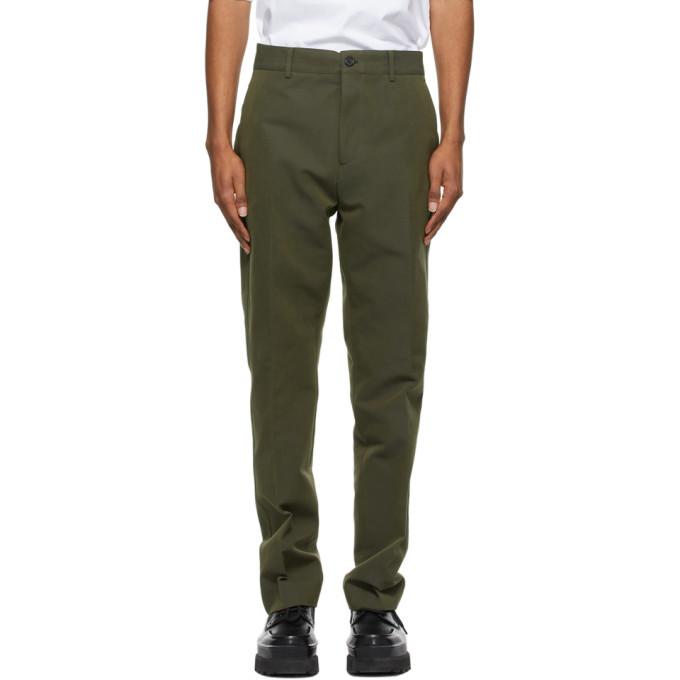Photo: Acne Studios Khaki Suit Trousers