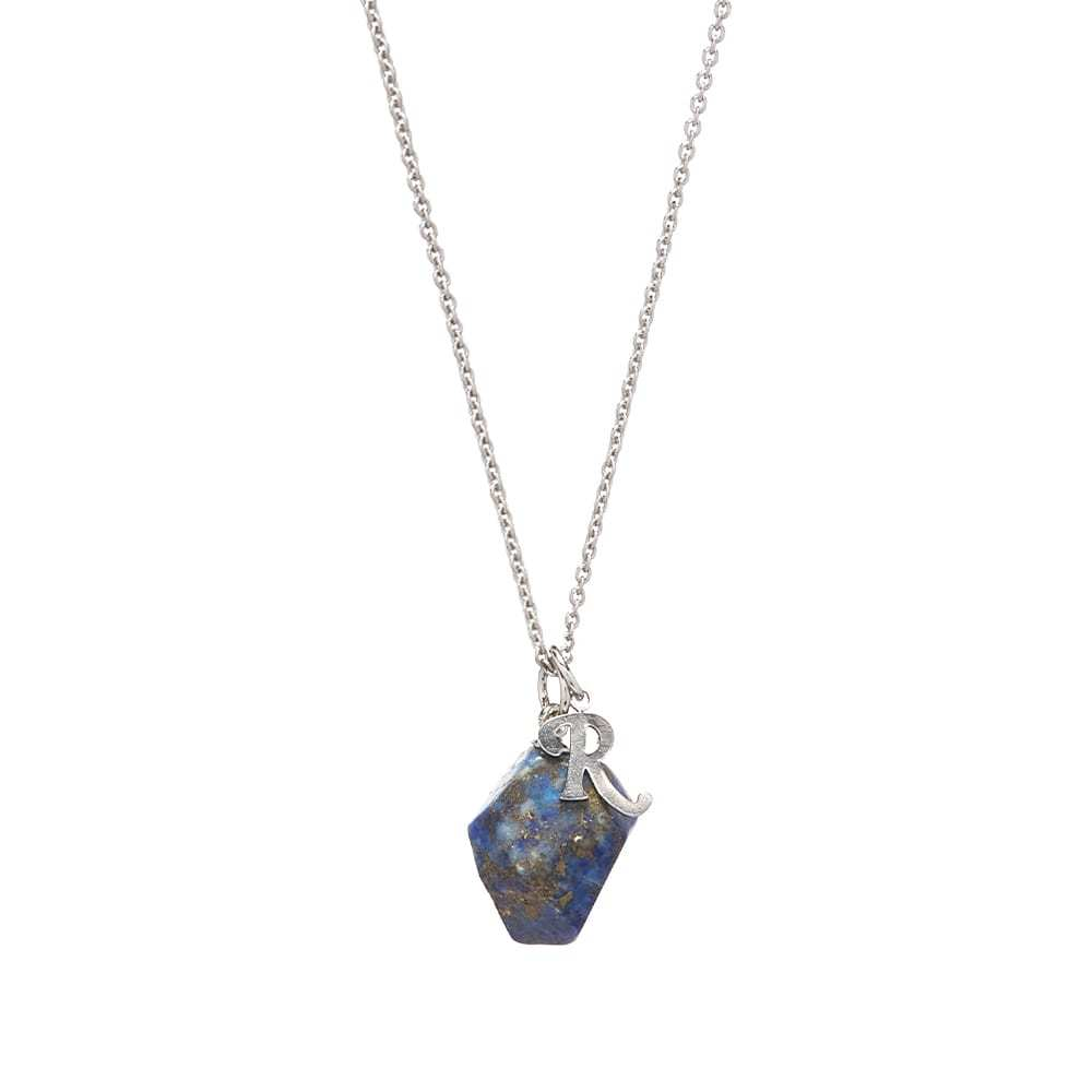 Raf Simons Stone Pendant and Necklace