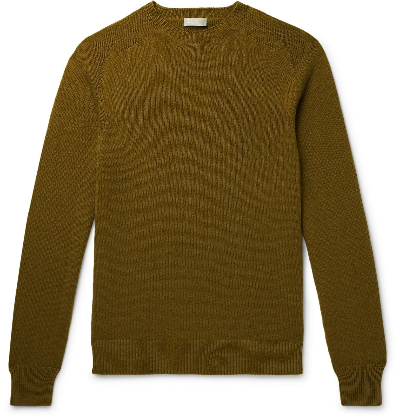 Margaret Howell - Cotton and Cashmere-Blend Sweater - Green