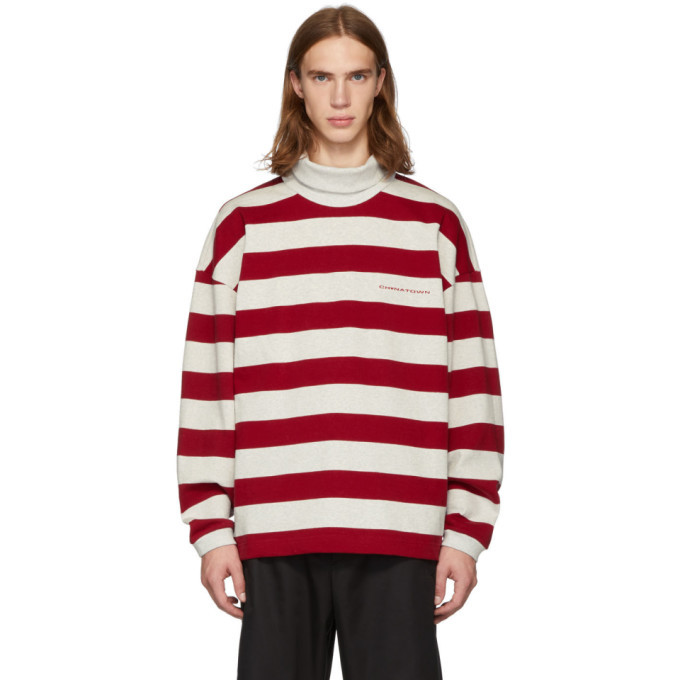 Photo: Alexander Wang Red and Grey Chynatown Sweatshirt