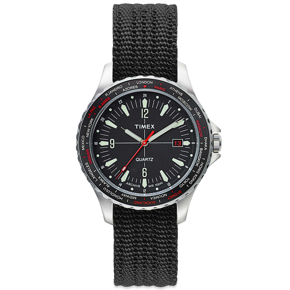 Photo: Timex Archive Navi World Time Watch