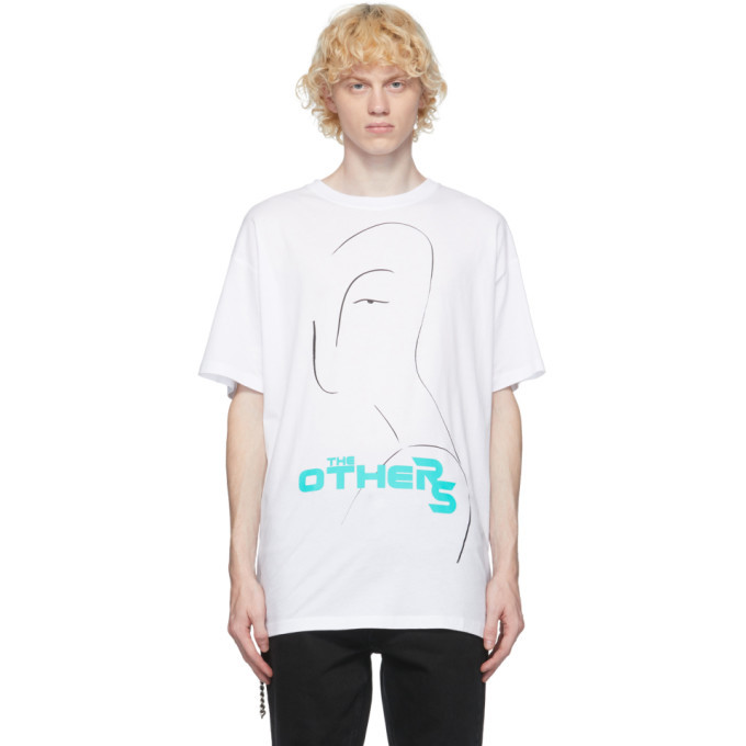 Photo: Raf Simons White The Others T-Shirt