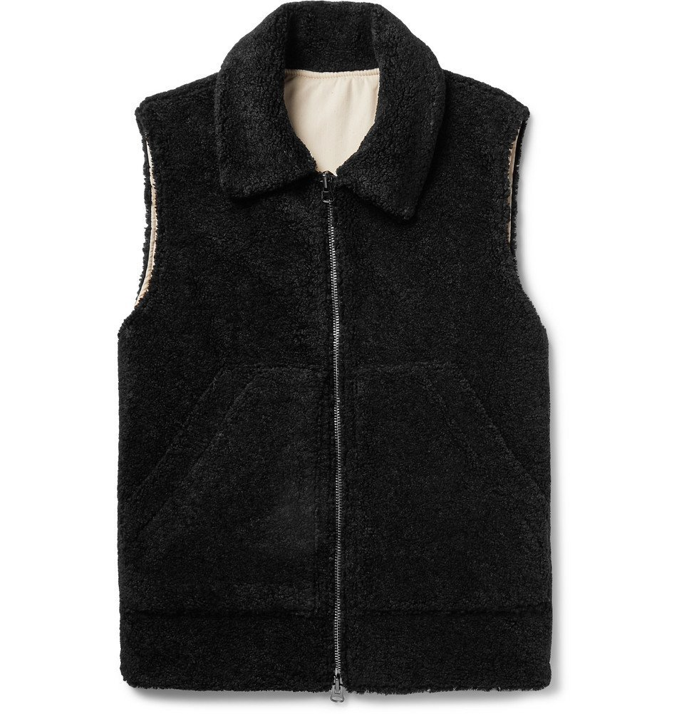 Photo: Barena - Fleece Gilet - Black