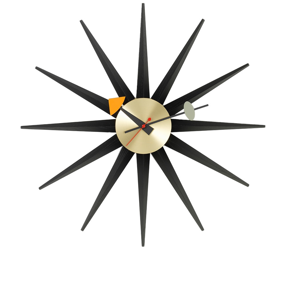 Photo: Vitra George Nelson Sunburst Wall Clock